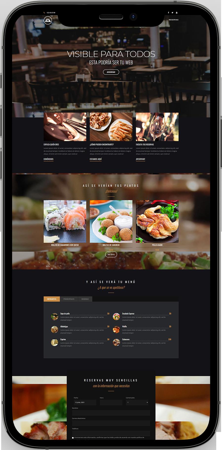 Tu web con el programa de digitalización de restaurantes - La Oficina del Presidente